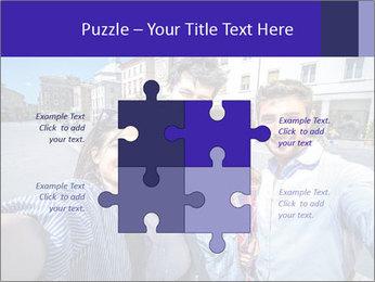 Friends Take Selfie Photo PowerPoint Template - Slide 43