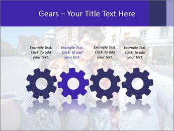 Friends Take Selfie Photo PowerPoint Template - Slide 48