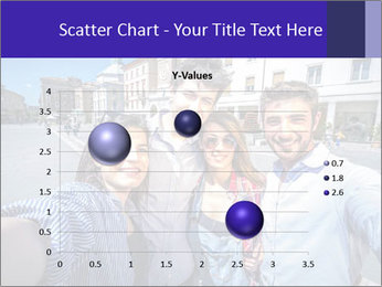 Friends Take Selfie Photo PowerPoint Template - Slide 49