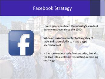 Friends Take Selfie Photo PowerPoint Template - Slide 6