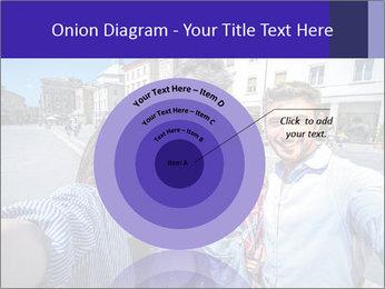 Friends Take Selfie Photo PowerPoint Template - Slide 61