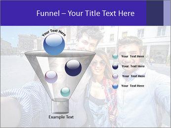 Friends Take Selfie Photo PowerPoint Template - Slide 63