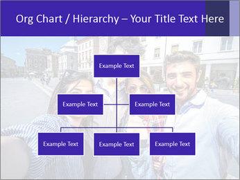 Friends Take Selfie Photo PowerPoint Template - Slide 66