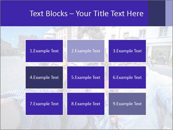 Friends Take Selfie Photo PowerPoint Template - Slide 68