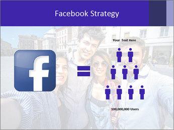 Friends Take Selfie Photo PowerPoint Template - Slide 7