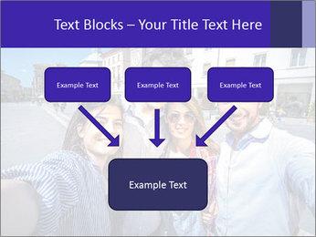 Friends Take Selfie Photo PowerPoint Template - Slide 70