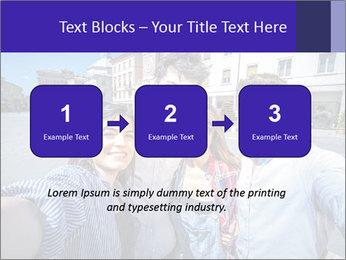 Friends Take Selfie Photo PowerPoint Template - Slide 71