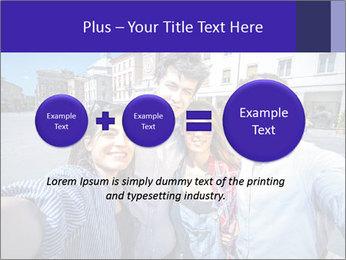 Friends Take Selfie Photo PowerPoint Template - Slide 75