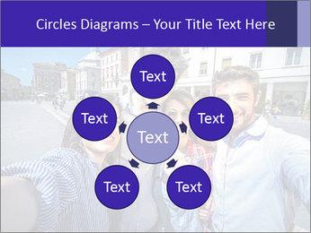 Friends Take Selfie Photo PowerPoint Template - Slide 78