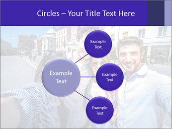 Friends Take Selfie Photo PowerPoint Template - Slide 79