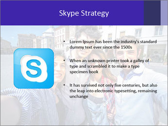 Friends Take Selfie Photo PowerPoint Template - Slide 8