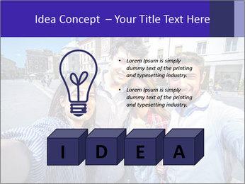 Friends Take Selfie Photo PowerPoint Template - Slide 80
