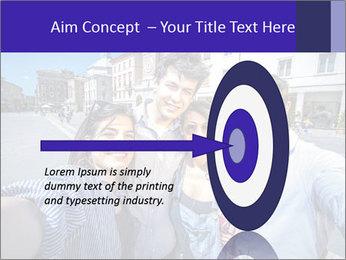 Friends Take Selfie Photo PowerPoint Template - Slide 83