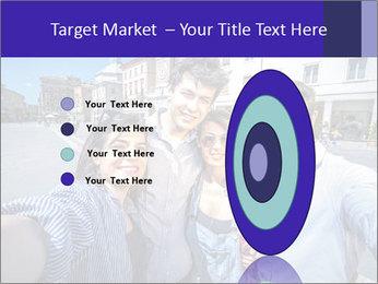 Friends Take Selfie Photo PowerPoint Template - Slide 84