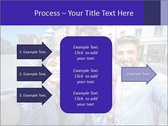 Friends Take Selfie Photo PowerPoint Template - Slide 85