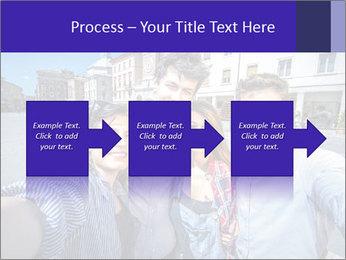 Friends Take Selfie Photo PowerPoint Template - Slide 88