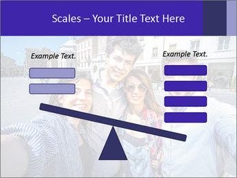 Friends Take Selfie Photo PowerPoint Template - Slide 89