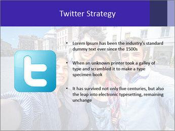 Friends Take Selfie Photo PowerPoint Template - Slide 9