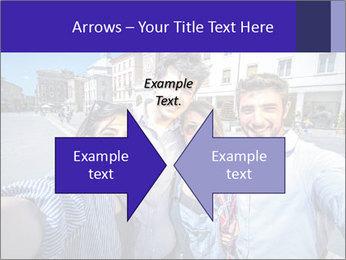 Friends Take Selfie Photo PowerPoint Template - Slide 90