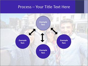 Friends Take Selfie Photo PowerPoint Template - Slide 91