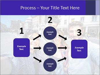 Friends Take Selfie Photo PowerPoint Template - Slide 92