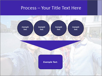 Friends Take Selfie Photo PowerPoint Template - Slide 93