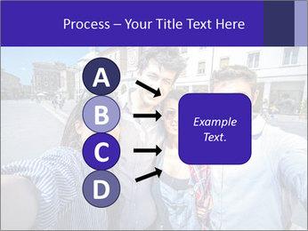Friends Take Selfie Photo PowerPoint Template - Slide 94