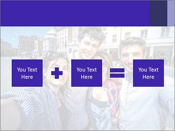 Friends Take Selfie Photo PowerPoint Template - Slide 95