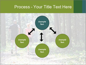 A couple jogging PowerPoint Templates - Slide 91