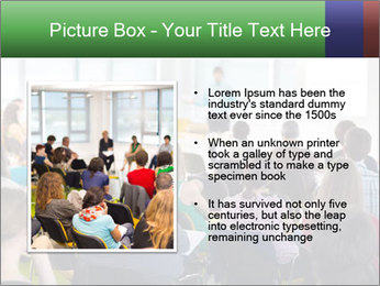 Speaker at Business convention PowerPoint Template - Slide 13