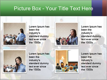 Speaker at Business convention PowerPoint Template - Slide 14