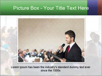 Speaker at Business convention PowerPoint Templates - Slide 15