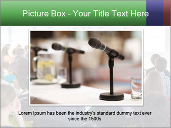 Speaker at Business convention PowerPoint Template - Slide 16