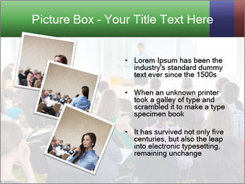 Speaker at Business convention PowerPoint Template - Slide 17