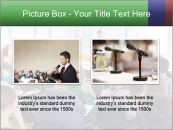Speaker at Business convention PowerPoint Template - Slide 18