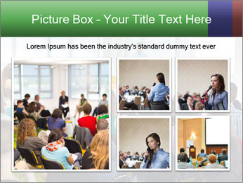 Speaker at Business convention PowerPoint Templates - Slide 19