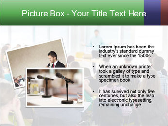 Speaker at Business convention PowerPoint Templates - Slide 20