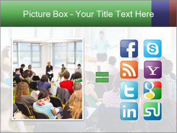 Speaker at Business convention PowerPoint Templates - Slide 21