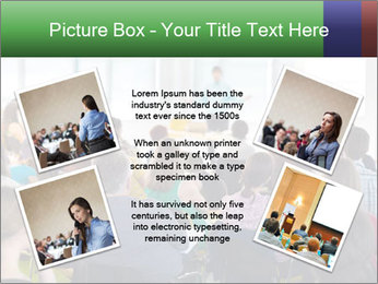Speaker at Business convention PowerPoint Template - Slide 24