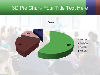 Speaker at Business convention PowerPoint Templates - Slide 35