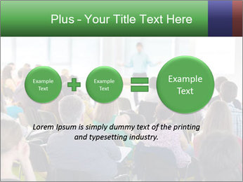 Speaker at Business convention PowerPoint Templates - Slide 75