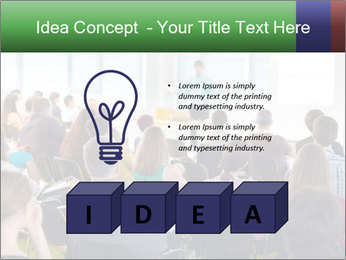 Speaker at Business convention PowerPoint Template - Slide 80