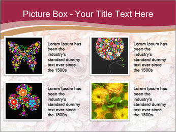 Colorful flowers paper PowerPoint Templates - Slide 14