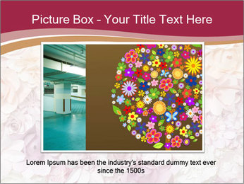 Colorful flowers paper PowerPoint Templates - Slide 15
