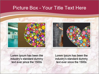 Colorful flowers paper PowerPoint Templates - Slide 18