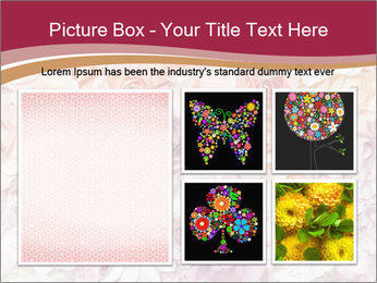 Colorful flowers paper PowerPoint Templates - Slide 19