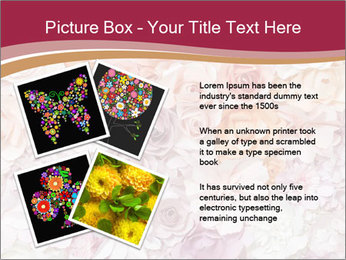 Colorful flowers paper PowerPoint Templates - Slide 23