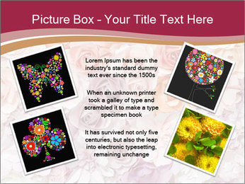 Colorful flowers paper PowerPoint Templates - Slide 24