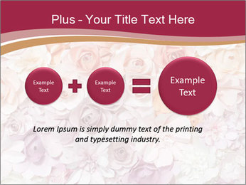 Colorful flowers paper PowerPoint Templates - Slide 75