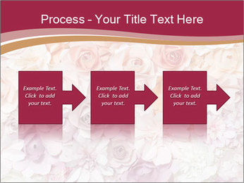 Colorful flowers paper PowerPoint Templates - Slide 88